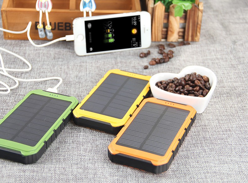 power bank solar для телефона