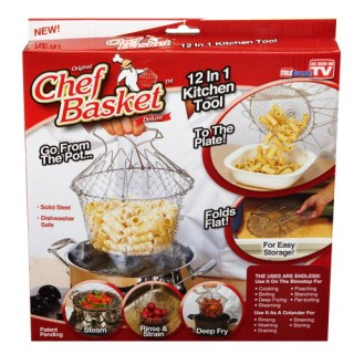 Chef Basket универсальная складная решётка для кухни